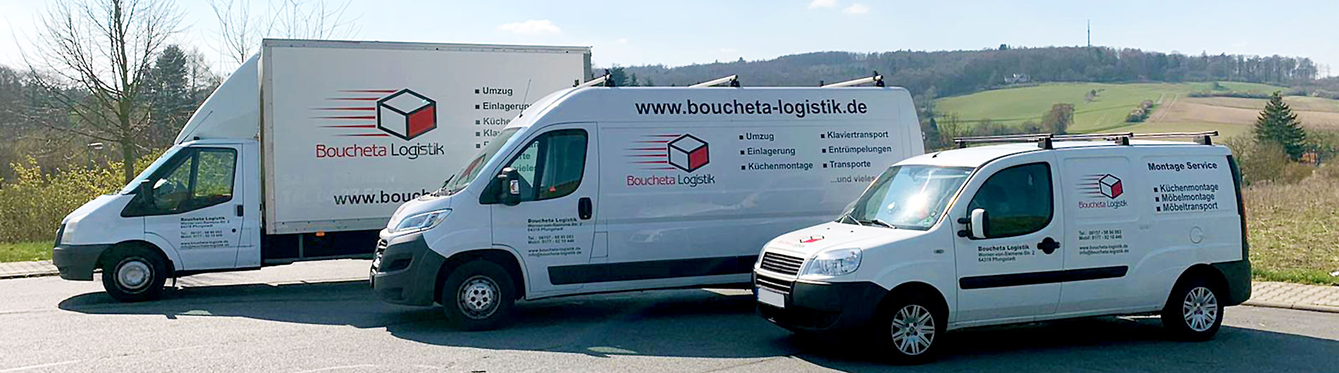 Boucheta Logistik und Transport in Darmstadt